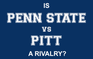 Is Penn State vs Pitt a Rivalry? You decide!