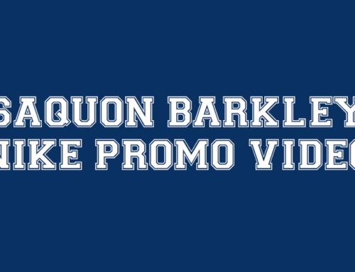 Saquon Barkley is the Spotlight in New Nike Promo