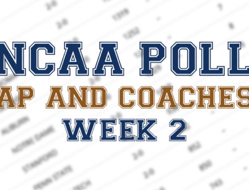 Penn State on the Move in the Latest AP and Coaches Poll – Week Two