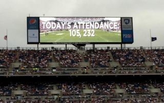 The Penn State Football Team Beats Appalachian State