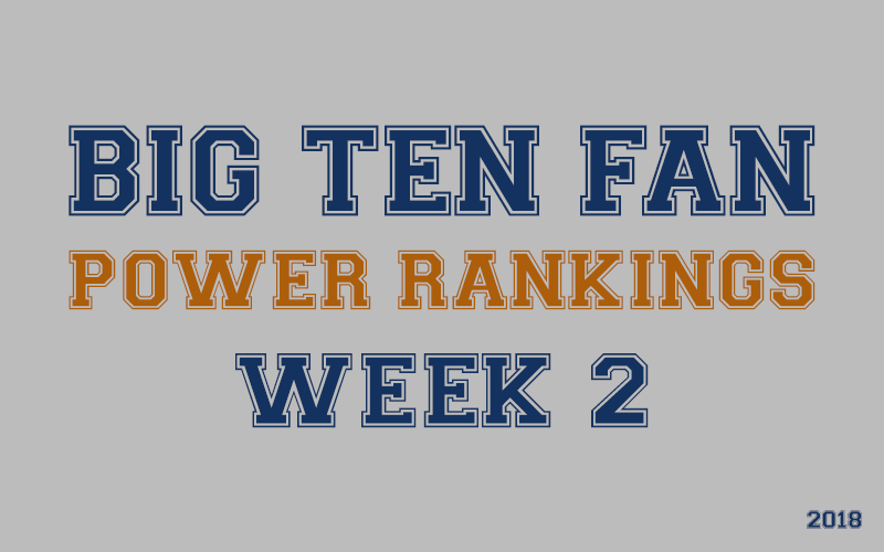 BIG Ten Football Fan Power Rankings, Penn State Nittany Lions, Ohio State Buckeyes, Michigan Wolverines, Michigan State Spartans